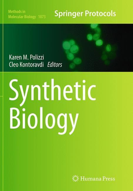 Abbildung von Polizzi / Kontoravdi | Synthetic Biology | Softcover reprint of the original 1st ed. 2013 | 2016