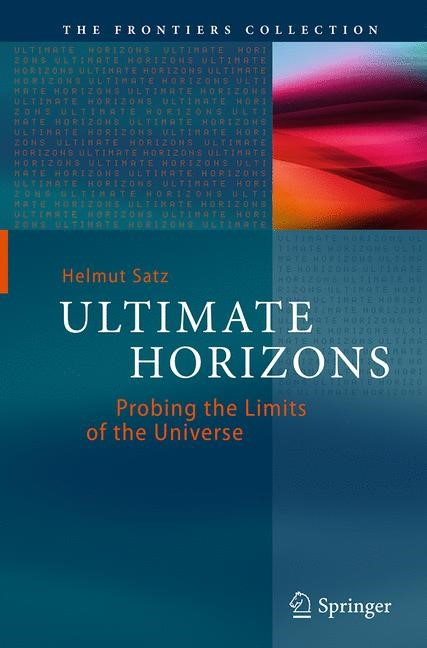 Abbildung von Satz | Ultimate Horizons | Softcover reprint of the original 1st ed. 2013 | 2016