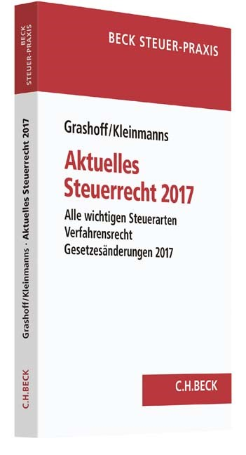 Aktuelles Steuerrecht 2017 | Grashoff / Kleinmanns | Buch (Cover)
