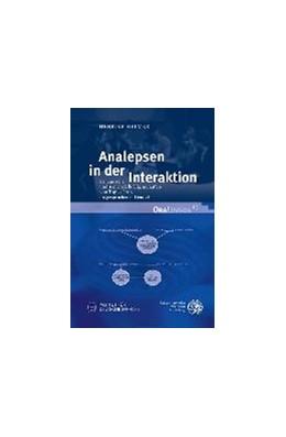 Abbildung von Helmer | Analepsen in der Interaktion | 2016 | Semantische und sequenzielle E...