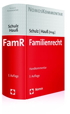 Familienrecht | Schulz / Hauß (Hrsg.) | 3. Auflage, 2017 | Buch (Cover)