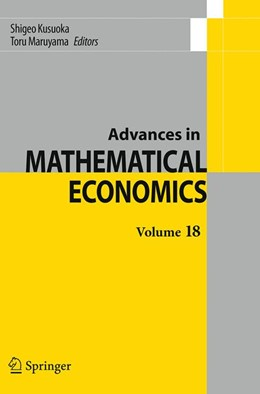 Abbildung von Kusuoka / Maruyama   Advances in Mathematical Economics Volume 18   Softcover reprint of the original 1st ed. 2014   2016   18