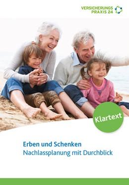 Abbildung von Korn / Schiller   Erben und Schenken   2015   Nachlassplanung mit Durchblick
