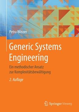 Abbildung von Winzer | Generic Systems Engineering | 2. Aufl. 2016 | 2016 | Ein methodischer Ansatz zur Ko...