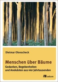 Menschen über Bäume   Olonscheck, 2017   Buch (Cover)