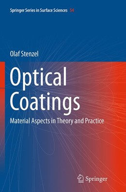 Abbildung von Stenzel | Optical Coatings | Softcover reprint of the original 1st ed. 2014 | 2016 | Material Aspects in Theory and... | 54