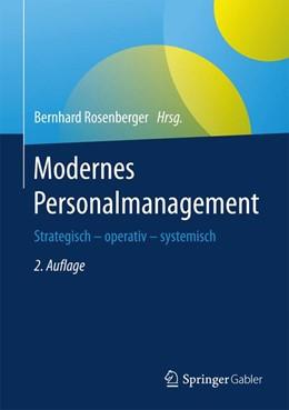 Abbildung von Rosenberger | Modernes Personalmanagement | 2. Auflage | 2017 | beck-shop.de