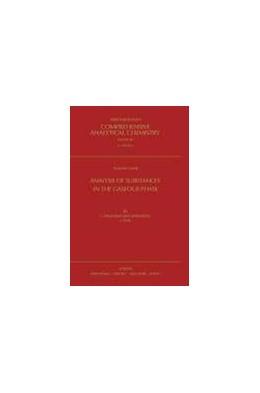 Abbildung von Smolkova-Keulemansova / Feltl | Analysis of Substances in the Gaseous Phase | 1991 | 28
