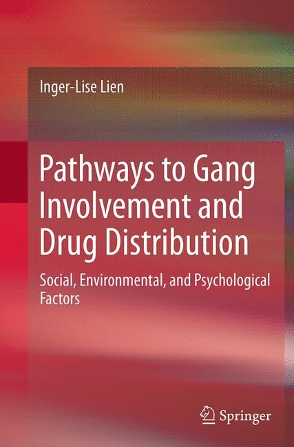 Abbildung von Lien | Pathways to Gang Involvement and Drug Distribution | Softcover reprint of the original 1st ed. 2014 | 2016