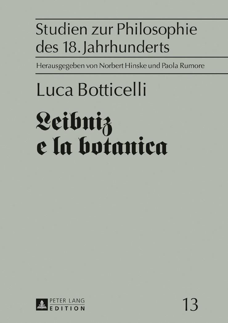 Leibniz e la botanica | Botticelli, 2016 | Buch (Cover)