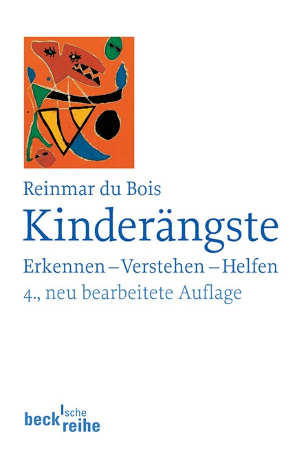 Cover: Reinmar du Bois, Kinderängste