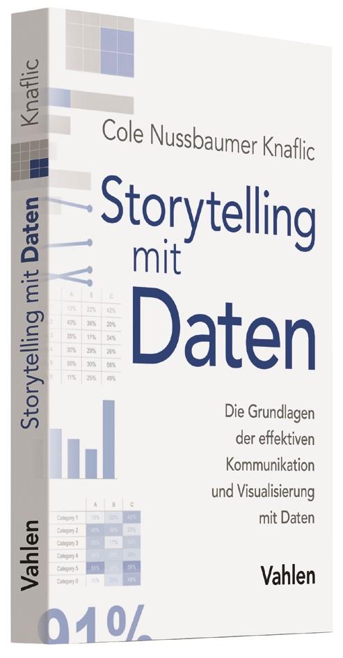 Storytelling mit Daten | Nussbaumer Knaflic, 2017 | Buch (Cover)