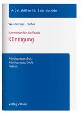 Kündigung Weinbrenner Fischer Verlag Vahlen München