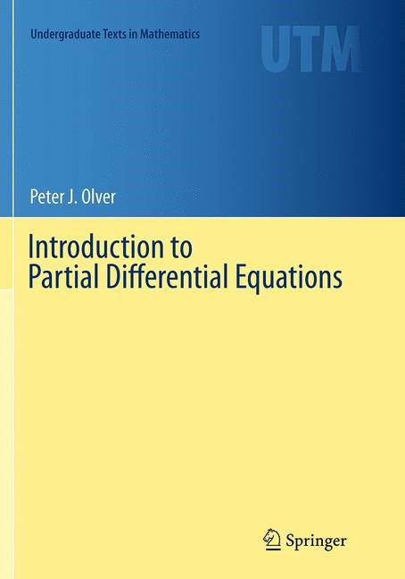 Introduction to Partial Differential Equations | Olver | Softcover reprint of the original 1st ed. 2014, 2016 | Buch (Cover)