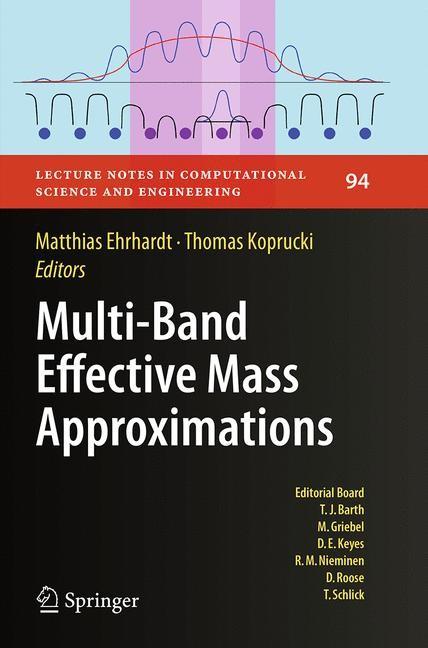 Abbildung von Ehrhardt / Koprucki | Multi-Band Effective Mass Approximations | Softcover reprint of the original 1st ed. 2014 | 2016