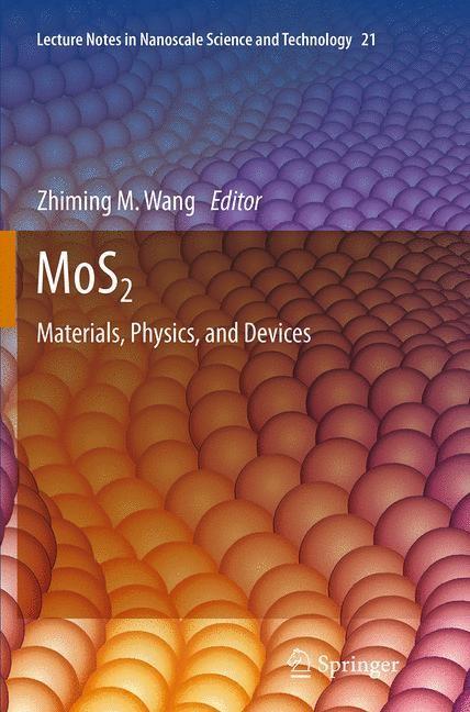 Abbildung von Wang   MoS2   Softcover reprint of the original 1st ed. 2014   2016
