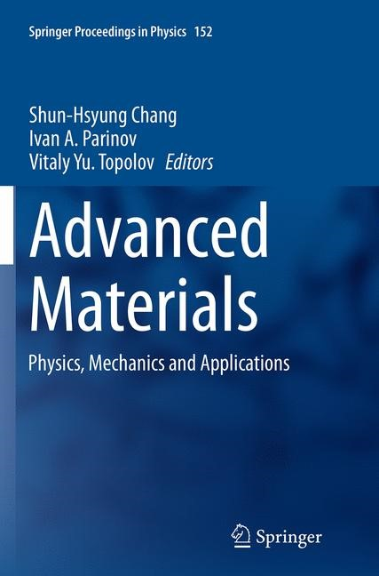 Abbildung von Chang / Parinov / Topolov | Advanced Materials | Softcover reprint of the original 1st ed. 2014 | 2016