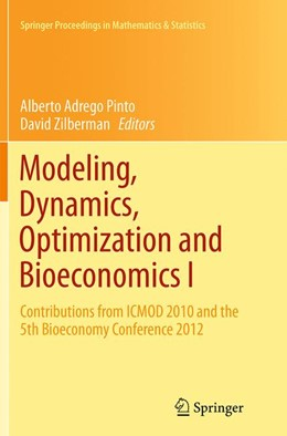 Abbildung von Pinto / Zilberman | Modeling, Dynamics, Optimization and Bioeconomics I | Softcover reprint of the original 1st ed. 2014 | 2016 | Contributions from ICMOD 2010 ... | 73
