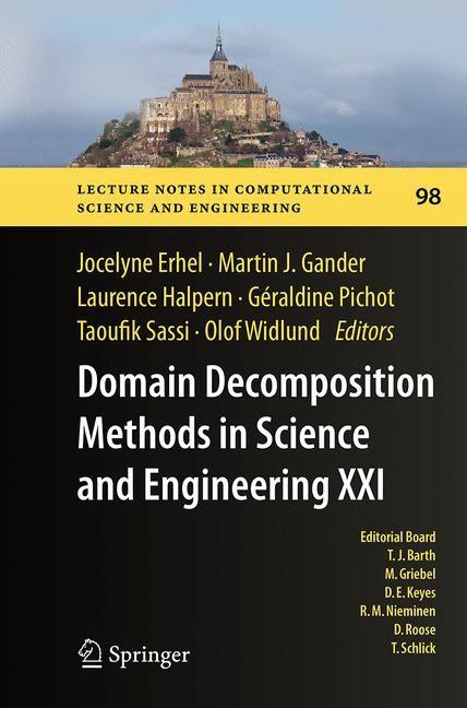 Abbildung von Erhel / Gander / Halpern / Pichot / Sassi / Widlund | Domain Decomposition Methods in Science and Engineering XXI | Softcover reprint of the original 1st ed. 2014 | 2016