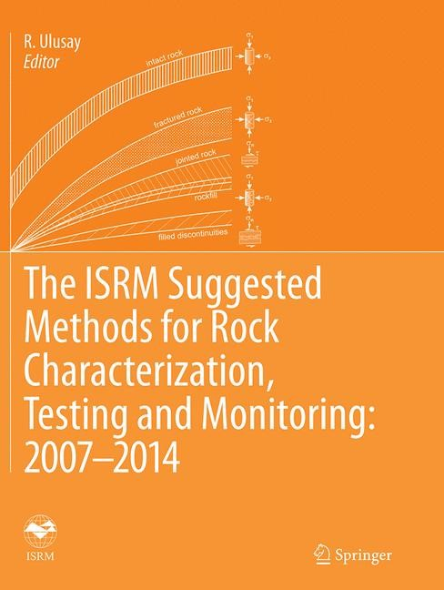 Abbildung von Ulusay | The ISRM Suggested Methods for Rock Characterization, Testing and Monitoring: 2007-2014 | Softcover reprint of the original 1st ed. 2015 | 2016