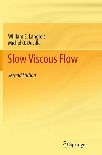 Abbildung von Langlois / Deville | Slow Viscous Flow | Softcover reprint of the original 2nd ed. 2014 | 2016