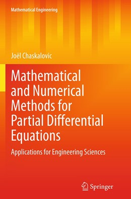 Abbildung von Chaskalovic | Mathematical and Numerical Methods for Partial Differential Equations | Softcover reprint of the original 1st ed. 2014 | 2016 | Applications for Engineering S...