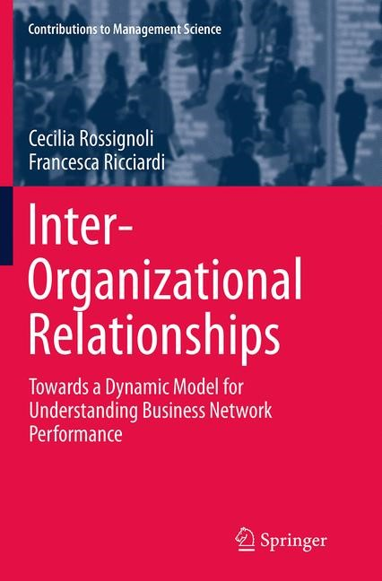 Abbildung von Rossignoli / Ricciardi | Inter-Organizational Relationships | Softcover reprint of the original 1st ed. 2015 | 2016