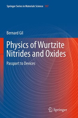 Abbildung von Gil | Physics of Wurtzite Nitrides and Oxides | Softcover reprint of the original 1st ed. 2014 | 2016 | Passport to Devices | 197