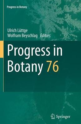 Abbildung von Lüttge / Beyschlag | Progress in Botany | Softcover reprint of the original 1st ed. 2015 | 2016 | Vol. 76 | 76