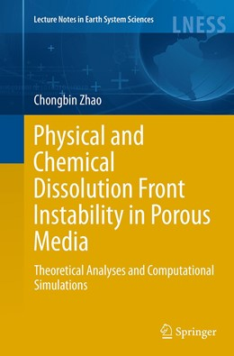 Abbildung von Zhao | Physical and Chemical Dissolution Front Instability in Porous Media | Softcover reprint of the original 1st ed. 2014 | 2016 | Theoretical Analyses and Compu...