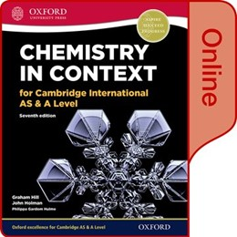 Abbildung von Hill / Holman / Gardom Hulme | Chemistry in Context for Cambridge International AS & A Level Online Student Book | 2017 | Online Student Book