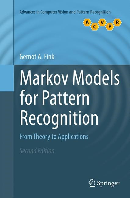 Abbildung von Fink   Markov Models for Pattern Recognition   Softcover reprint of the original 2nd ed. 2014   2016