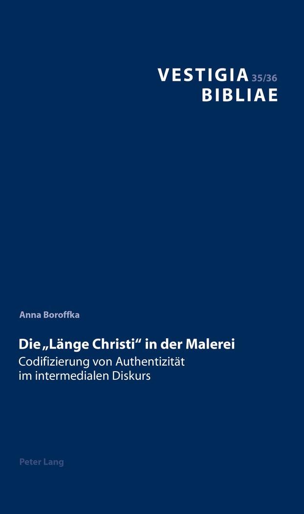 Die «Länge Christi» in der Malerei | Boroffka, 2017 | Buch (Cover)