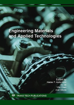 Abbildung von Abdul Amir / Jie / Chen / Sikora | Engineering Materials and Applied Technologies | 2016
