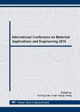 Abbildung von Xiao / Chang | International Conference on Materials Applications and Engineering 2016 | 2016 | Volume 873