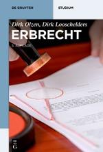 Erbrecht | Olzen / Looschelders | 5., erweiterte und neu bearbeitete Auflage, 2017 | Buch (Cover)