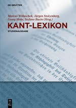 Abbildung von Willaschek / Stolzenberg / Mohr / Bacin (Hrsg.) | Kant-Lexikon | 2017