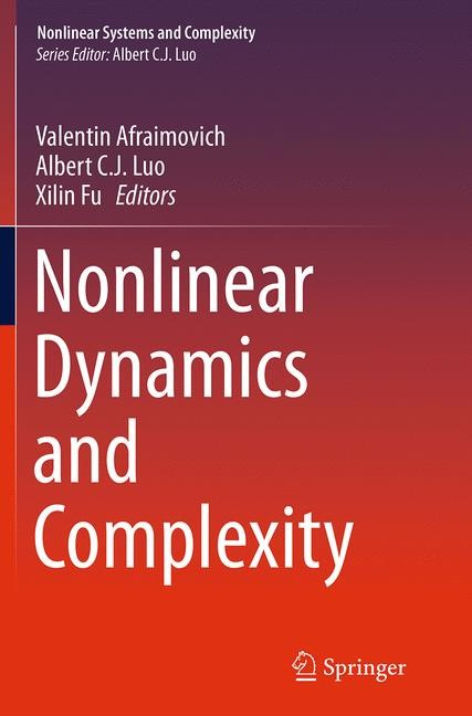 Abbildung von Afraimovich / Luo / Fu | Nonlinear Dynamics and Complexity | Softcover reprint of the original 1st ed. 2014 | 2016
