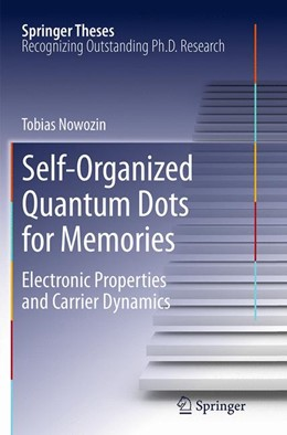 Abbildung von Nowozin | Self-Organized Quantum Dots for Memories | Softcover reprint of the original 1st ed. 2014 | 2016 | Electronic Properties and Carr...