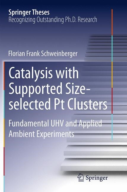 Abbildung von Schweinberger | Catalysis with Supported Size-selected Pt Clusters | Softcover reprint of the original 1st ed. 2014 | 2016