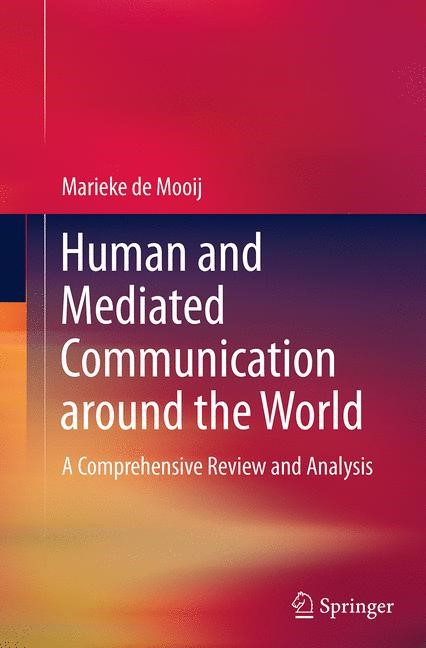 Abbildung von de Mooij | Human and Mediated Communication around the World | Softcover reprint of the original 1st ed. 2014 | 2016