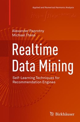 Abbildung von Paprotny / Thess | Realtime Data Mining | Softcover reprint of the original 1st ed. 2013 | 2016