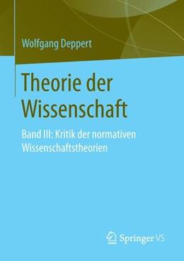 Abbildung von Deppert | Theorie der Wissenschaft | 1. Auflage | 2019 | beck-shop.de