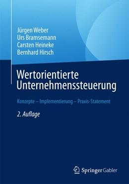 Abbildung von Weber / Bramsemann | Wertorientierte Unternehmenssteuerung | 2. Auflage | 2017 | beck-shop.de