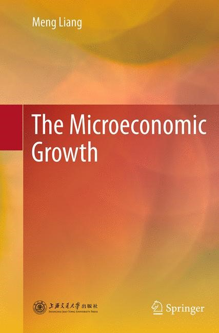 Abbildung von Liang | The Microeconomic Growth | Softcover reprint of the original 1st ed. 2014 | 2016