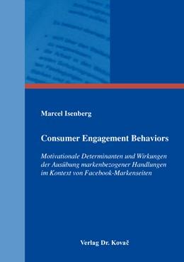 Abbildung von Isenberg   Consumer Engagement Behaviors   1. Auflage   2016   70   beck-shop.de