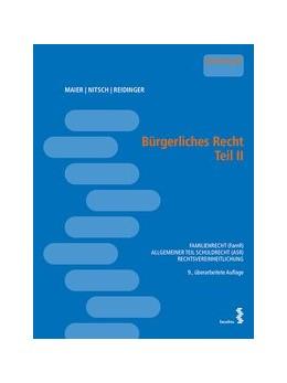 Abbildung von Maier / Reidinger / Nitsch   Bürgerliches Recht Teil II   2016