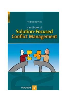 Abbildung von Bannink | Handbook of Solution-Focused Conflict Management | 2010
