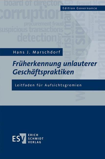 Früherkennung unlauterer Geschäftspraktiken | Marschdorf, 2016 | Buch (Cover)