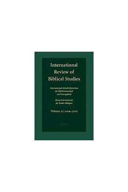 Abbildung von Lang | International Review of Biblical Studies, Volume 51 (2004-2005) | 2006 | (2004-2005) | 51